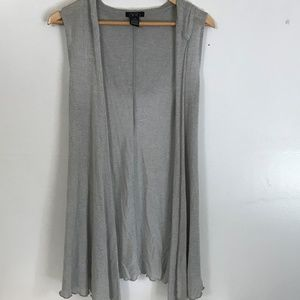 EUC Deb Sleeveless Lightweight Cardigan Vest
